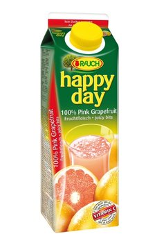 Happy day grapefruit s dužinou 100% 1l, 12ks