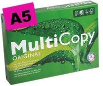 kopírovací papír Multicopy A5 210x148mm !!!!, 80g, 500 listů