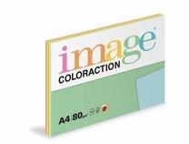 barevný papír Coloraction A4,80g, 5x20 listů, reflexní