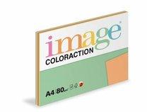 barevný papír Coloraction A4,80gr 5x20 listů, intenzivní