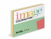barevný papír Coloraction A4, 80g, TOP mix, 250 listů