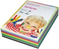 barevný papír Master copy recycled a4, 80g, 500 listů, mix barev