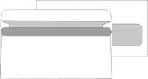 obálka DL okno vpravo samolepicí, 1000ks