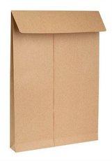 obchodní taška B4 křížové dno samolepicí s KP, 250ks
