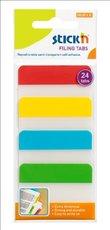 záložky plast Stick´n  Hopax neon 38x51mm, 4x6 lístků