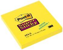 3M Super Stick 654 S  76x76mm, 90 lístků