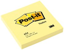 3M Post-it 654 Y  76x76mm, 100 lístků