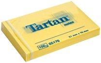3M Tartan 656/51x76mm žlutý, 100 lístků