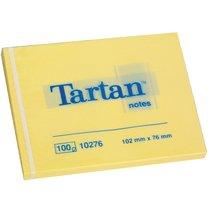 3M Tartan 657/76x102mm žlutý, 100 lístků