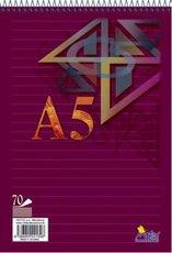 blok A5 spirála 70 listů linka