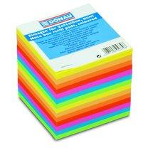 kostka 9x9x9cm barevná nelepená, 800 lístků