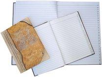 záznamní kniha A5 100 listů linka, registr A-Z