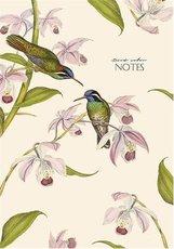 záznamní kniha  A4 linka, 80 listů Birds colour, mix motivů