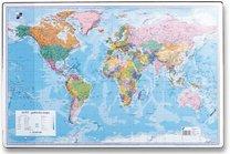 podložka na psaní A2 mapa světa
