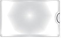samolepicí kapsa na vizitku boční, 10 ks
