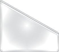 samolepicí kapsa A4 šikmá, 6 ks