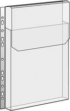 závěsný obal A4 na katalogy s klopou, 180mic, 10 ks
