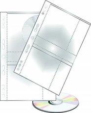 závěsný obal na 4 CD/DVD, 25 ks