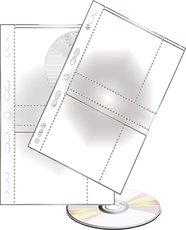 závěsný obal na 2 CD/DVD, 10 ks