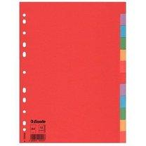 rozlišovač Eco karton  A4 12 barev