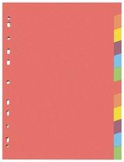 rozlišovač karton A4 12 barev Ešv