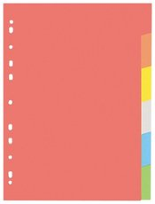 rozlišovač karton A4  6 barev Ešv