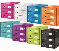 box CLICK-N-STORE 3 zásuvky