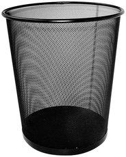 odpadkový koš drátěný černý 20l