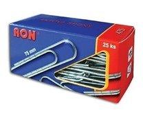 dopisní sponky RON 75mm, 25ks