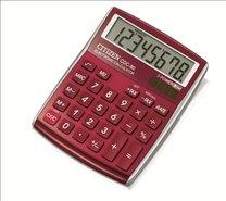 stolní kalkulačka CITIZEN  CDC-80 červená