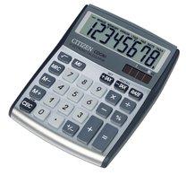 stolní kalkulačka CITIZEN  CDC-80 stříbrná