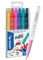 popisovač Frixion Colors sada 6 ks + omalovánky ZDARMA