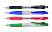 kuličkové pero Spoko 112 průhledné