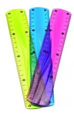 pravítko KEYROAD 20 cm, ohebné, asort