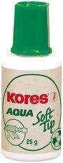 opravný lak KORES Aqua soft tip