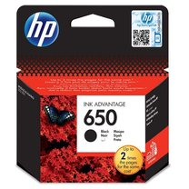 HP CZ101AE No.650 black