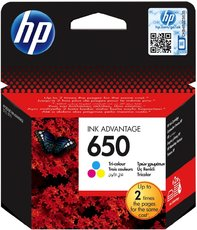 HP CZ102AE No.650 color