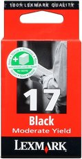 Lexmark 10NX217E No.17 black