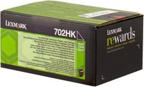 Lexmark 70C2HK0 (702HK) black