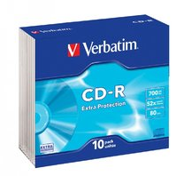 CD-R Verbatim 52x/700 MB/slim box 10ks