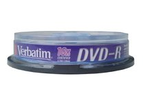DVD-R Verbatim 16x/4,7GB/spindl box 10ks