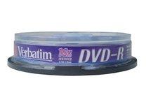 DVD-R Verbatim 16x/4,7GB/spindl box 10ks