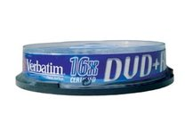 DVD+R Verbatim 16x/4,7GB/spindl box 10ks