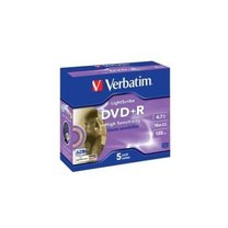 DVD+R Verbatim 16x/4,7GB/ jewel box 5ks