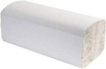 papírové ručníky Z-Z celuloza bílé 2-vrstvé, 3000ks