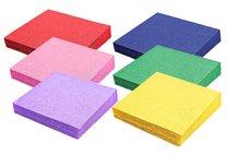 ubrousky barevné 2-vrstvé 33x33 cm, 20 ks