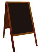 oboustranná stojací tabule 70x50cm