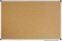 korková nástěnka 90x60cm hlinikový rám