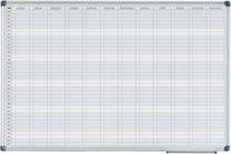 magnetická tabule plánovací roční