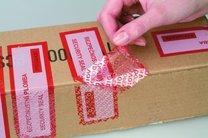 plomba foliová KTL (bezpečnostní páska), 435 ks